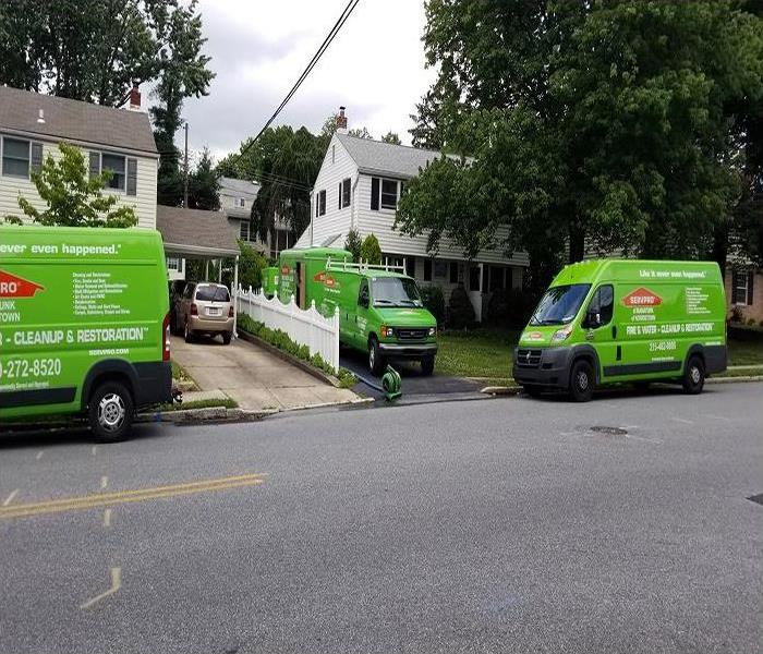 Residential Water Damage in Manayunk