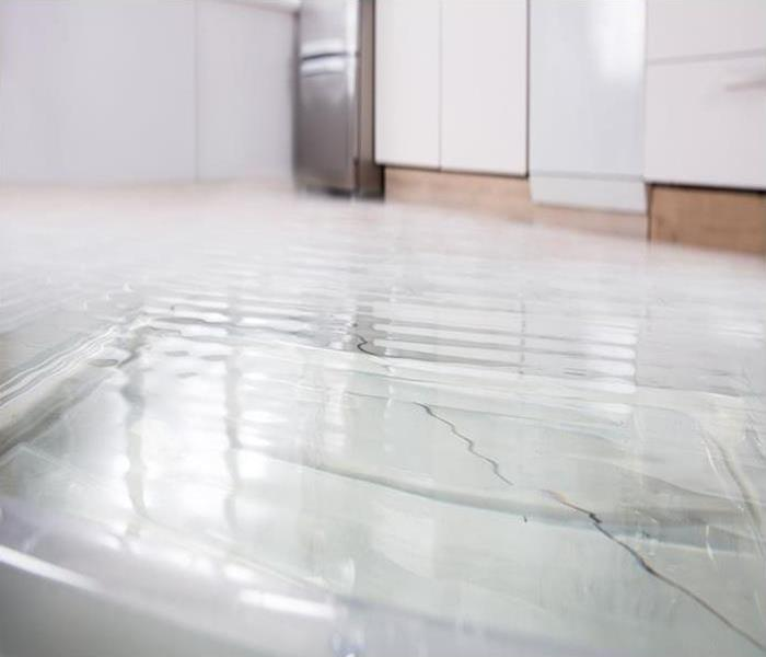 flooding in a home after a storm